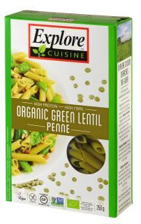 Green Lentil Penne