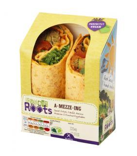 Urban Eat Roots – A Mezze-Ing Wrap