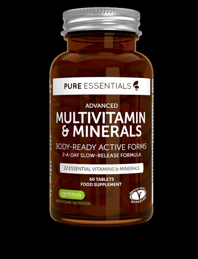 Pure Essentials Advanced Multivitamin & Minerals