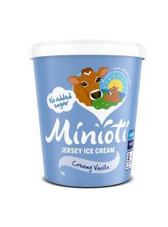 Minioti Jersey Ice Cream: Creamy Vanilla