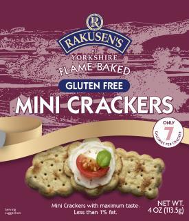 Rakusen's Gluten Free Mini Cracker USA 4oz