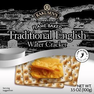 Rakusen's Traditional Water Cracker USA 3.5oz