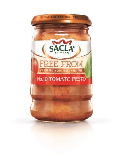 Sacla' Free From No.10 Tomato Pesto