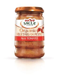 Sacla' Organic No.6 Tomato Pesto