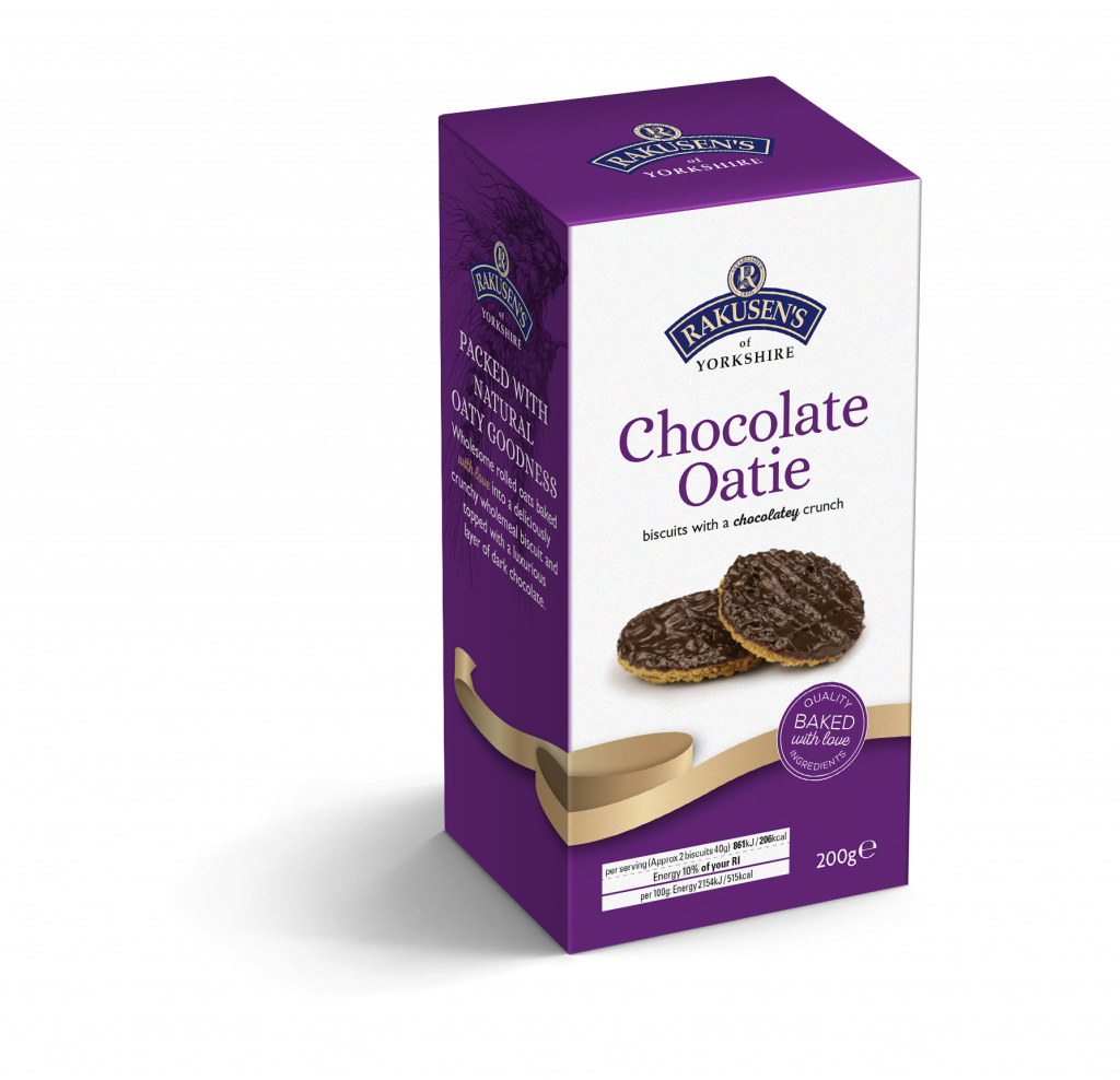 Rakusen's Chocolate Oaties 200g