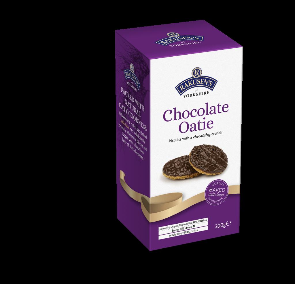 Rakusen's Chocolate Oaties 200g