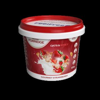 Protein Porridge Pots: Gourmet Strawberry