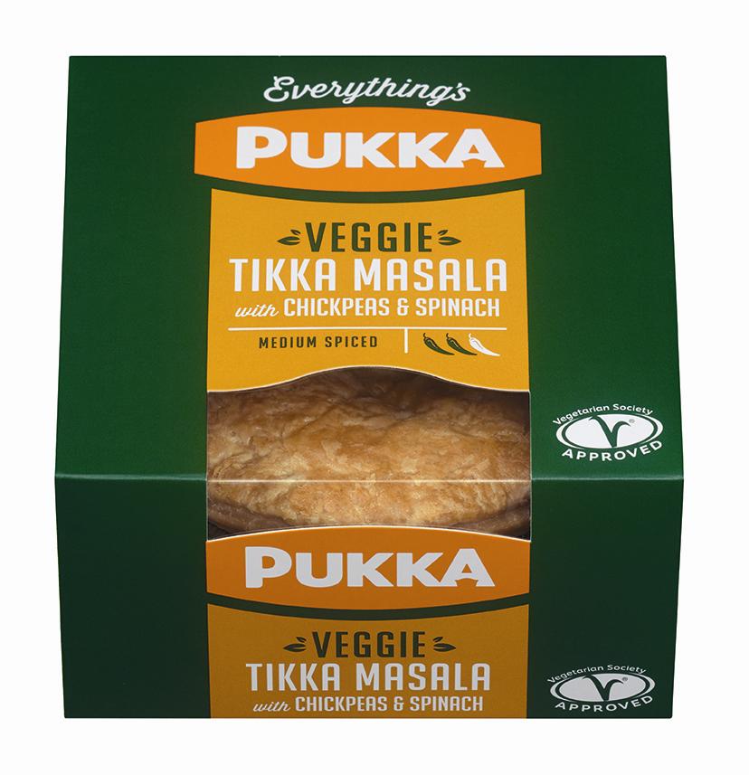 Veggie Tikka Masala with Chickpeas & Spinach