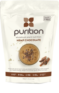 PURITION Wholefood Plant Nutrition: Vegan Hemp Chocolate