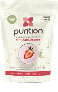 PURITION Wholefood Plant Nutrition: With Strawberry