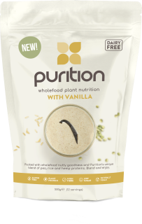 PURITION Wholefood Plant Nutrition: With Vanilla