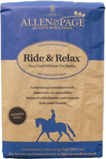 Allen & Page Horse Feed – Ride & Relax