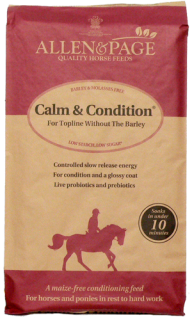 Allen & Page Horse Feed – Calm & Condition
