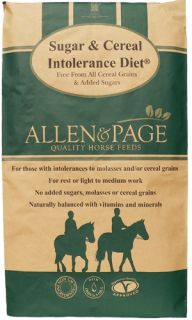 Allen & Page Horse Feed – Sugar & Cereal Intolerance Diet
