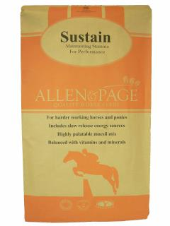 Allen & Page Horse Feed – Sustain