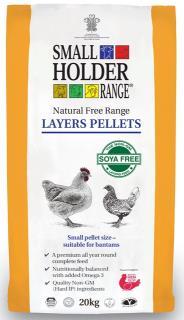 Smallholder Range – Natural Free Range Layers Pellets