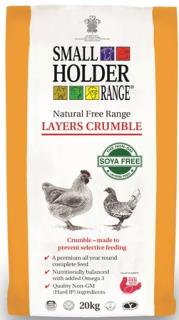 Smallholder Range – Natural Free Range Layers Crumble