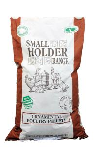 Smallholder Range – Ornamental Poultry Pellets