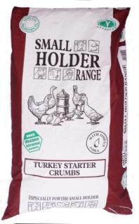 Smallholder Range – Turkey Starter Crumbs