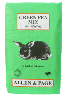 Allen & Page (Rabbit & Guinea) – Green Pea Mix