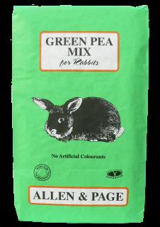 Allen & Page (Rabbit & Guinea) – Green Pea Mix