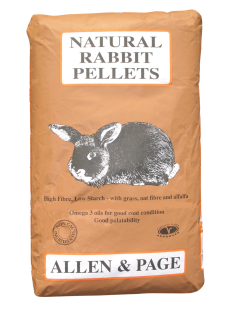 Allen & Page (Rabbit & Guinea) – Natural Rabbit Pellets