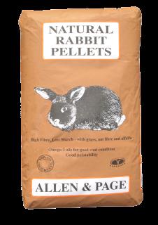 Allen & Page (Rabbit & Guinea) – Natural Rabbit Pellets