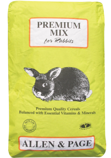 Allen & Page (Rabbit & Guinea) – Premium Rabbit Mix