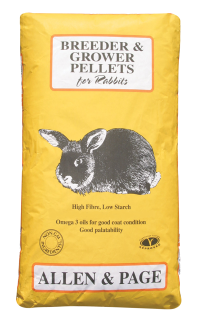 Allen & Page (Rabbit & Guinea) – Rabbit Breeder & Grower Pellets