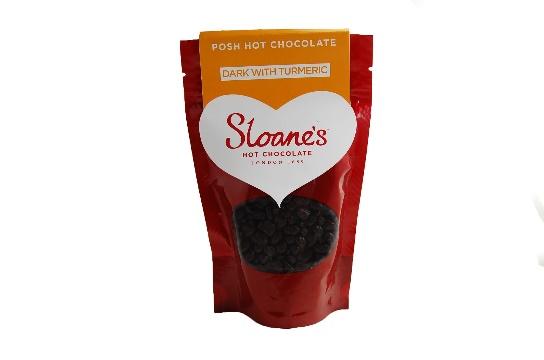 Dark with Turmeric Hot Chocolate
