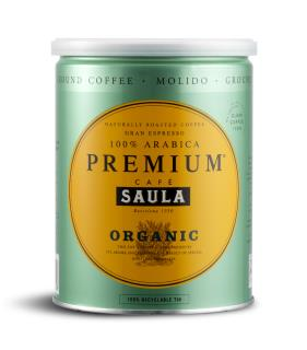 Cafè Saula Organic Espresso Ground Coffee