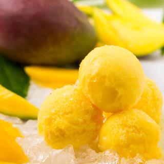 Rossi Ice Cream Mango Sorbet