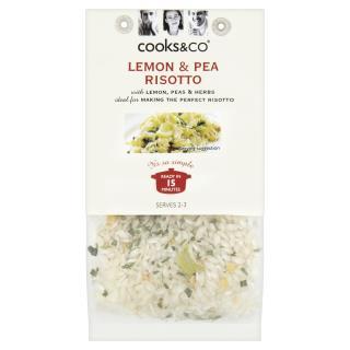 Lemon & Pea Risotto