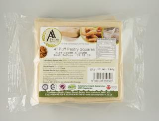 A1 Food Products 4″ Puff Pastry Squares