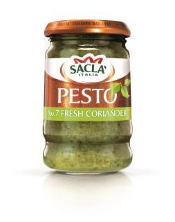 Sacla' No. 7 Fresh Coriander Pesto