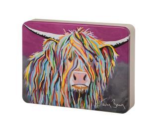 Steven Brown Art-Angus McCoo All Butter Shortbread Assortment 500g Tin