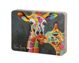 Steven Brown Art-Francie & Josie McZoo All Butter Shortbread Assortment 500g Tin