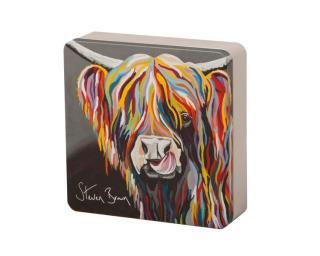 Steven Brown Art-Heather McCoo All Butter Shortbread Rounds 160g Tin