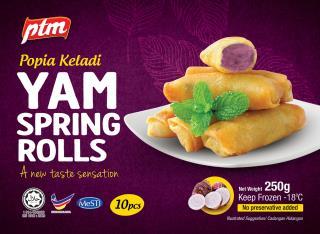 Pertama Yam Spring Roll