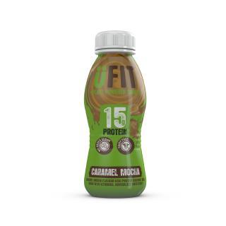 UFIT High Protein Vegan Shake Drink – Caramel Mocha Flavour 310ml