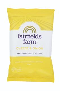 Fairfields Farm Crisps Cheese & Onion