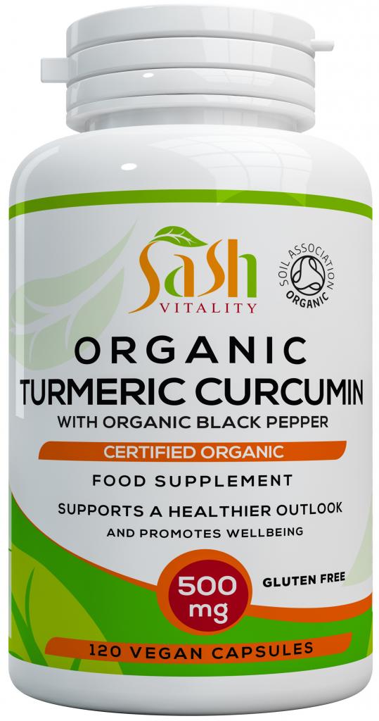 Organic Turmeric & Black Pepper capsule