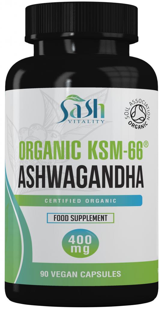 Organic Ashwagandha HVC (500mg)
