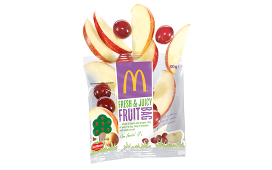 Apple and Grape Fruit Bag