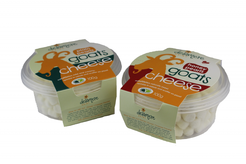 Delamere Dairy Goat Cheese Pearls