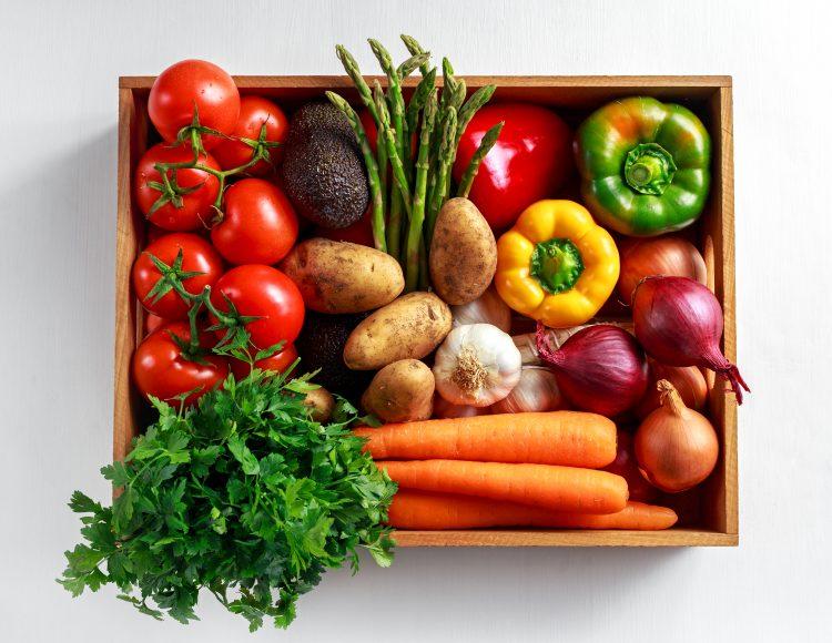 Seasonal UK grown produce | Vegetarian Society