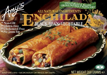 Amy's Kitchen Black Bean Enchilada