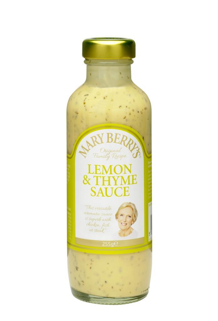 Mary Berry's Lemon & Thyme Sauce