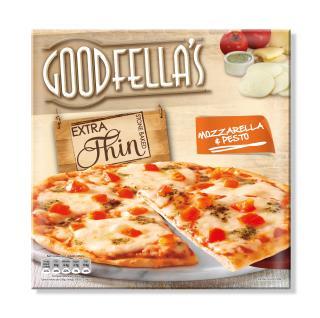 Goodfella's Extra Thin Mozzarella & Pesto