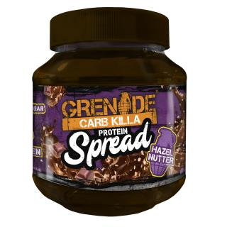 Carb Killa Protein Spread – Hazel Nutter (200g and 360g)